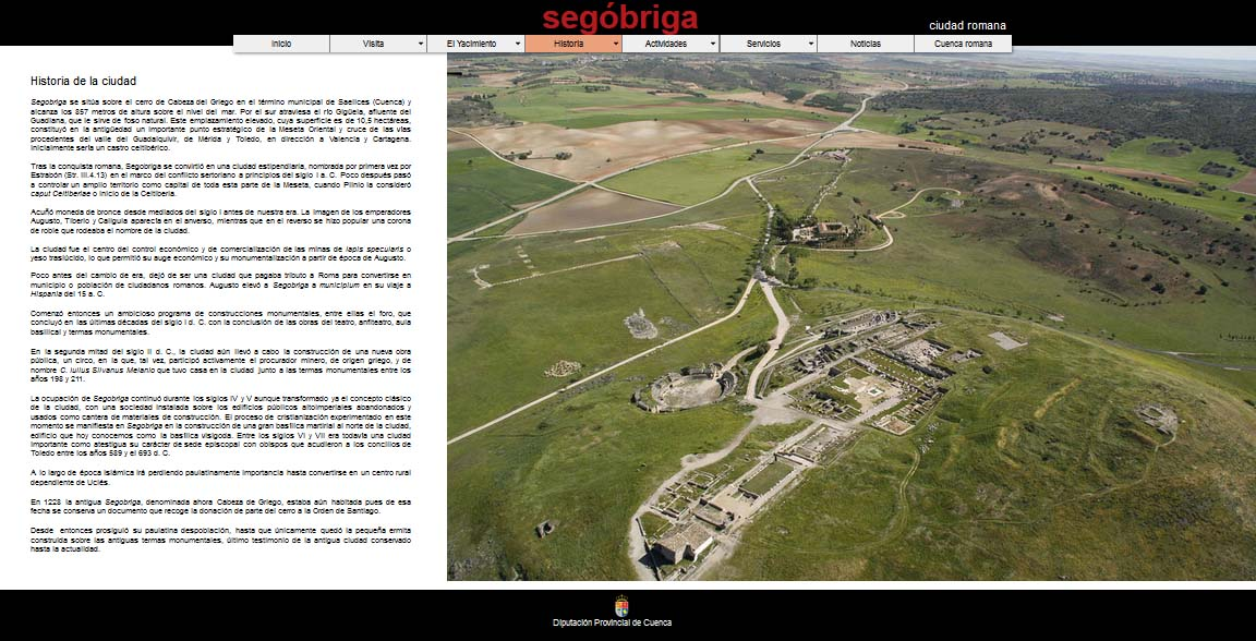 segobriga.org, una web con historia