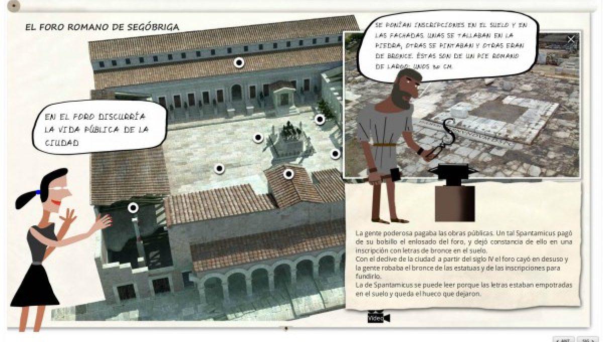 Diputación acerca el Parque Arqueológico de Segóbriga a los escolares